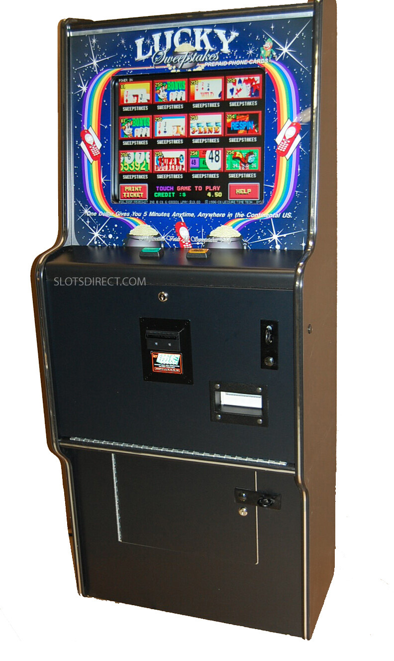 Dragon's law slot machine