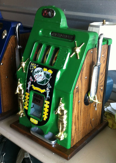 Mills Baseball Slot Machine