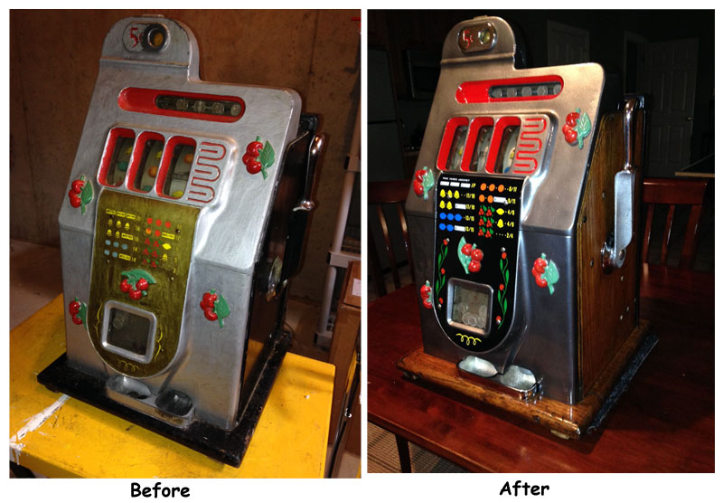 Older slot machines for sale