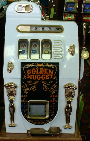 golden nugget 25 cent slot machine