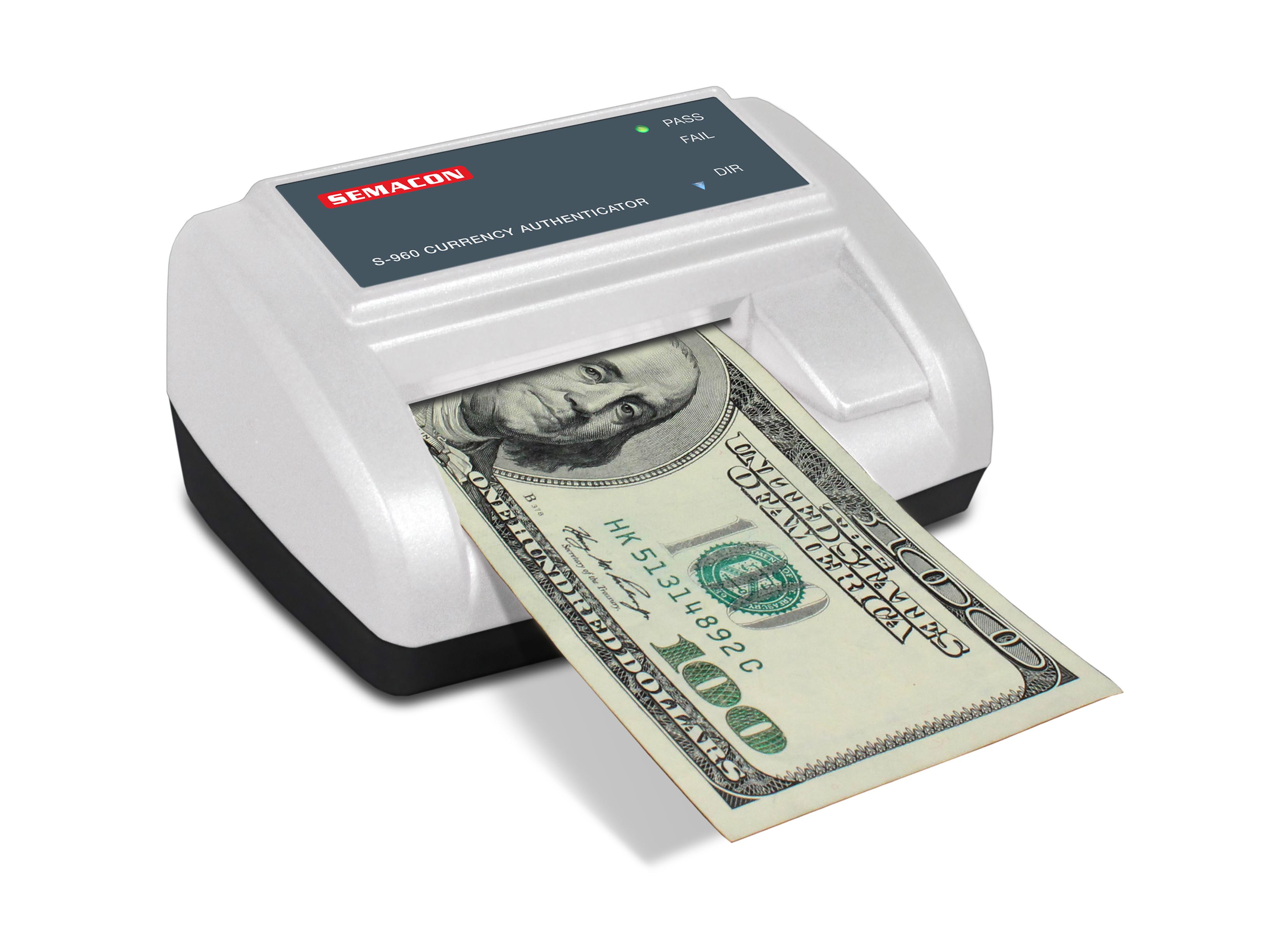 machine to check for money